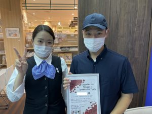 10月度 横須賀賃貸ご契約 K様 横須賀モアーズシティ店